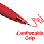 BIC® BU3 Retractable Ballpoint Pen, Bold, 1.0mm, Red, Dozen Thumbnail 4