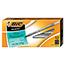 BIC® Round Stic Xtra Precision & Xtra Life Ballpoint Pen, Black Ink, .8mm, Fine, DZ Thumbnail 1
