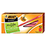 BIC® Round Stic Xtra Precision & Xtra Life Ballpoint Pen, Red Ink, 1mm, Medium, DZ Thumbnail 1