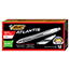 BIC® Atlantis Exact Retractable Ballpoint Pen, Black Ink, .7mm, Fine, Dozen Thumbnail 1