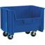 """W.B. Mason Co. Mobile Giant Stackable Bins, 19 7/8"""" x 15 1/4"""" x 12 7/16"""", Blue, 3/CS Thumbnail 1"""