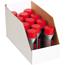 """W.B. Mason Co. Jumbo Open Top Bin Boxes, 6"""" x 18"""" x 10"""", White, 25/BD Thumbnail 1"""
