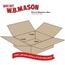 """W.B. Mason Co. Flat Corrugated boxes, 17 1/2"""" x 12"""" x 3"""", Kraft, 25/BD Thumbnail 2"""