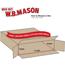 """W.B. Mason Co. Side Loading boxes, 36"""" x 5"""" x 36"""", Kraft, 20/BD Thumbnail 2"""