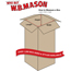 "W.B. Mason Co. Tall Corrugated boxes, 7"" x 7"" x 12"", Kraft, 25/BD Thumbnail 2"