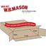 """W.B. Mason Co. Side Loading boxes, 48"""" x 8"""" x 24"""", Kraft, 10/BD Thumbnail 2"""