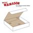 "W.B. Mason Co. Literature mailers, 10"" x 10"" x 4"", White, 50/BD Thumbnail 2"