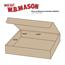 "W.B. Mason Co. Literature mailers, 11 1/8"" x 8 3/4"" x 2"", Kraft, 50/BD Thumbnail 3"