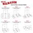"W.B. Mason Co. Literature mailers 12"" x 12"" x 2"", White, 50/BD Thumbnail 3"