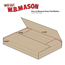 "W.B. Mason Co. Easy-Fold mailers, 12 1/8"" x 9 1/8"" x 1"", Kraft, 50/BD Thumbnail 2"