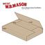 "W.B. Mason Co. Easy-Fold mailers, 20"" x 16"" x 2"", Kraft, 50/BD Thumbnail 2"