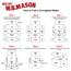"W.B. Mason Co. Corrugated mailers, 3"" x 3"" x 3"", White, 50/BD Thumbnail 4"