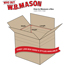 """W.B. Mason Co. Multi-Depth Corrugated boxes, 14"""" x 8"""" x 6"""", Kraft, 25/BD Thumbnail 2"""