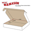 "W.B. Mason Co. Deluxe Literature mailer, 10"" x 10"" x 3"", White, 50/BD Thumbnail 2"
