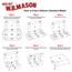 "W.B. Mason Co. Deluxe Literature mailers, 12"" x 11"" x 3"", White, 50/BD Thumbnail 3"