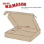 "W.B. Mason Co. Deluxe Literature mailers, 12"" x 12"" x 2"", Kraft, 50/BD Thumbnail 2"