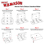 "W.B. Mason Co. Deluxe Literature mailer, 18"" x 12"" x 6"", White, 25/BD Thumbnail 3"