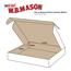 "W.B. Mason Co. Deluxe Literature mailers, 11 3/4"" x 10 3/4"" x 2 1/4"", White, 50/BD Thumbnail 2"