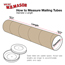 "W.B. Mason Co. Heavy-Duty Mailing Tubes 3"" x 36"", Kraft, 24/CS Thumbnail 2"