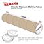 "W.B. Mason Co. Mailing Tubes with Caps, 4"" x 48"", Kraft, 15/CS Thumbnail 2"