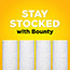 Bounty® Essentials Select-a-Size Paper Towels, 5 9/10 x 11, 1-Ply, 78/Roll, 8/Pack Thumbnail 5