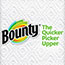 Bounty® Paper Towels, 2-Ply, White, 54 Sheets/Roll, 24 Rolls/Carton Thumbnail 2