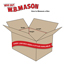 "W.B. Mason Co. Gift boxes, 4"" x 4"" x 2"", Holiday Red, 100/CS Thumbnail 2"