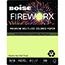 Boise® FIREWORX® Colored Paper, 20 lb., 8 1/2 x 11, Garden Springs Green, 500/RM Thumbnail 1