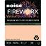 Boise® FIREWORX® Colored Paper, 20 lb., 8 1/2 x 11, Rat-a-Tat Tan, 500/RM Thumbnail 1