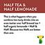 HONEST Tea® Half Tea, Half Lemonade 16.9 oz. 12/CS Thumbnail 3