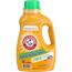 Arm & Hammer™ HE Compatible Liquid Detergent, Unscented, 50 oz. Bottle, 8/CT Thumbnail 1