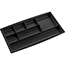 CEP 7-compartment Desk Drawer Organizer, Black Thumbnail 1