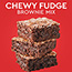 Duncan Hines® Chewy Fudge Full Size Brownie Mix, Family Size, 18.3 oz Thumbnail 2