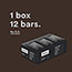 RX Bar® Chocolate Sea Salt Protein Bars, 1.83 oz., 12/Box Thumbnail 5