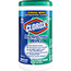 Clorox® Disinfecting Wipes, Fresh Scent, 75 Wipes/Canister Thumbnail 1