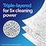 Clorox® Disinfecting Wipes, Crisp Lemon™, 75 Wipes, 6/CT Thumbnail 7