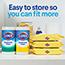 Clorox® Disinfecting Wipes, Crisp Lemon™, 75 Wipes, 6/CT Thumbnail 8