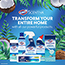 Clorox® Scentiva Manual Toilet Bowl Cleaner, Pacific Breeze & Coconut, 24 oz. Thumbnail 5