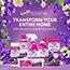 Clorox® Scentiva Bathroom Foam Cleaner, Aerosol, Tuscan Lavender Jasmine, 20 oz., 6/CT Thumbnail 4