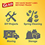 Glad® ForceFlex Tall Kitchen Drawstring Trash Bags, 13 Gallon Trash Bag, Fresh Clean Scent with Febreze Freshness, 40 Count, 6/CT Thumbnail 5