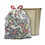 Glad® Tall Kitchen Drawstring Recycling Bags, 13 Gallon, Clear, 45 Count Thumbnail 5