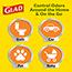 Glad® Small Trash Bags, OdorShield® 4 Gallon White Trash Bag, Febreze Fresh Clean, 26 Count, 6/CT Thumbnail 8
