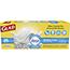 Glad® OdorShield® Medium Quick-Tie Trash Bags, 8 Gallon, White, Febreze Fresh Clean, 26 Count Each, 6/CT Thumbnail 1