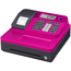 Casio® Pink Cabinet Single Tape Thermal Print Cash Register Thumbnail 1