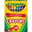 Crayola® Crayons, Tuck Box, 24/BX Thumbnail 1