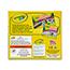 Crayola® Bulk Crayons, Regular Size, Black, 12/BX Thumbnail 2