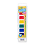 Crayola® Washable Watercolor Square Pans with Plastic Handled Brush, 8/PK Thumbnail 3