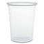Dart® Microgourmet Plastic Deli Container, 32 oz, Clear, 500/Carton Thumbnail 1