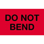 """Tape Logic® Labels, Do Not BenD, 3"""" x 5"""", Fluorescent Red, 500/RL Thumbnail 1"""