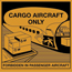 "Tape Logic® Labels, Cargo Aircraft Only, 4 1/4"" x 4 1/4"", Orange/Black, 500/RL Thumbnail 1"